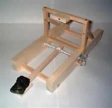 Medieval Warfare Basswood Diy Catapult Kit Middle Age Weaponry Physics Demo