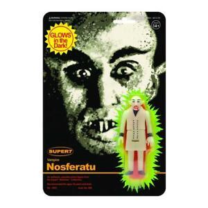 "Super7 Nosferatu Monster Glow 3.75"" ReAction Figure"