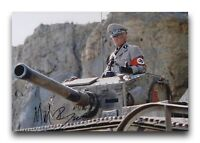 MICHAEL BYRNE HAND SIGNED 12X8 PHOTO INDIANA JONES AND THE LAST CRUSADE.