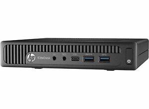 HP EliteDesk 800 G2 DM Mini PC i3-6100T  16GB RAM 500GB Windows 10 Warranty