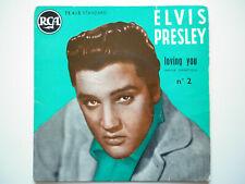 Elvis Presley 45Tours EP vinyle Loving You N°2