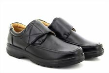SCIMITAR Touch Fastening Casual Slip On Casual Everyday Shoes Lightweight Black