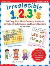 Little Learners: Irresistible 1, 2, 3's : 50 Easy, Fun, Multi-Sensory...