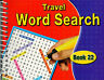 Spiral Bound Word Search Travel Books Kids Adults 170 Puzzles Book 22 - 3090