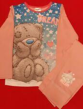 Girls Pink Tatty Teddy Long Sleeved Pyjamas