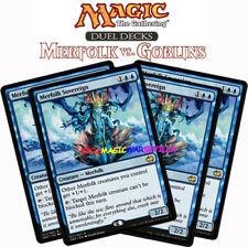 MTG 4 X MERFOLK SOVEREIGN - Tritón soberano - DD: Merfolk-Goblins ENGLISH MAGIC