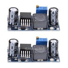2PCS LM2596S-ADJ DC-DC Buck Regulator Power Supply Module Adjustable 5V/12V/24V