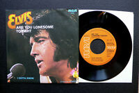 """7"""" Elvis Presley - Are You Lonesome Tonight - D RCA"""