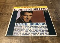 Jimmie Rodgers-15 Million Sellers-1962 Japan Import Vinyl LP- Roulette- SJET7175