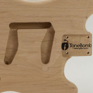 ToneBomb Light Weight Alder Vintage Mustang Style Guitar Body
