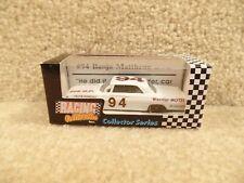 New 1992 Action 1:64 Diecast NASCAR Banjo Matthews Warrior Motel 1962 Pontiac