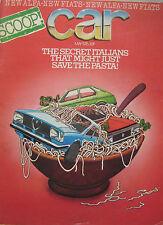 CAR 05/1976 featuring Chrysler-Matra Bagheera, Alfasud, Renault, Peugeot, Opel