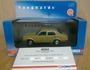 Corgi VA06308 Morris Marina 1300 Limeflower Ltd Ed. No. 0003 of 2870