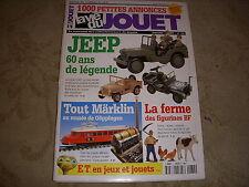 La VIE du JOUET 74 01.2002 TRAINS MARKLIN 60 ANS JEEP BILLARDS TABLE AUTO DELAGE