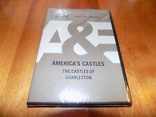 AMERICA'S CASTLES CHARLESTON SC A&E TV South Carolina Architect History DVD NEW