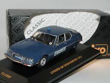 IXO CLC097, Citroen SM GENDARMERIE, 1973, POLIZEI, 1/43 OVP