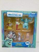 Disney Pixar Monster's Inc We Scare Because We Care 6pc Figures 2001 New