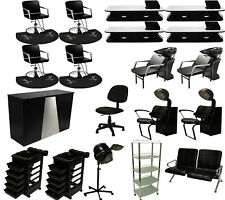 Complete Package Salon Chair Backwash Hair Dryer Style Station Beauty Equipment