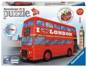 Ravensburger 3D Puzzle - London Bus - 216 pc - 12534