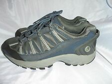 ATL MEN'S BLUE/GREY TEXTILE MATERIAL LACE UP TRAINERS SIZE UK 8 EU 42 VGC