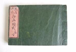19th Century Japanese Pattern Book, Tsuba, Combs, Landscapes, Animals, Birds etc