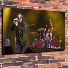 "Ozzy Osbourne Printed Box Canvas Picture A1.30""x20""Deep 30mm Frame Heavy Metal"