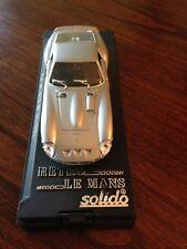 SOLIDO 1/43 Scale Metal Model #25 FERRARI 250 GTO 1963 SILVER