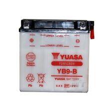 YUASA Batería de MOTO yb9-b YB 9-b NUEVO 12 VOLTIOS 9ah, SIN Paquete ÁCIDO