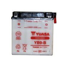 YUASA MOTORRAD-BATTERIE YB9-B YB 9-B NEU !!!, 12Volt 9Ah, ohne Säurepack