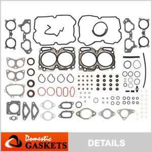 Fits 04-06 Subaru Impreza Forester Legacy Baja 2.5L DOHC Head Gasket Set EJ255