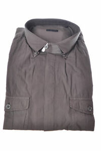Paolo Pecora  -  Shirt - Male - Grey - 2997204A183519