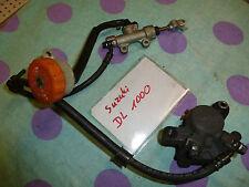 Suzuki DR 650 hinterradbramsanlage, Roue Arrière Frein, voir bildere