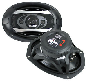"""BOSS Audio P694C 6x9"""" 800W 4-Way 4 Ohm Car Coaxial Stereo Speakers, Pair"""