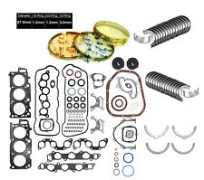 04-08 LEXUS ES330 RX330 RX400h 3.3L 3MZFE 24V DOHC ENGINE RE-RING KIT