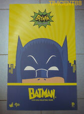 Ready! Hot Toys MMS218 DC  Batman 1966 Adam West Classic TV 1/6 Figure
