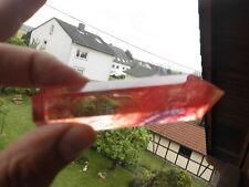Sehr schöner und kraftvoller roter Smelt Quartz Pointer 67,3 Gramm (Sr9)