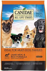 Canidae All Life Stages Premium Dog Food Lamb & Rice 30 lbs.