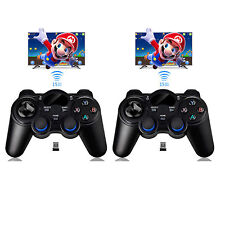 2* 2.4G Wireless Game Controller Gamepad Joystick for Android TV Box Tablets GPD