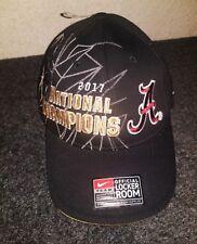a1afa5faacf Nike Alabama Crimson Tide 2017 National Champions Hat Locker Room One Size  Cap