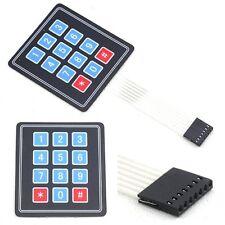 3*4 Matrix Keyboard SCM Extended Membrane Switch Keypad Control Panel