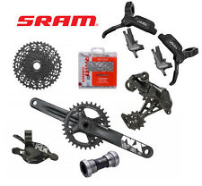 Gruppo bicicletta MTB Sram NX 1x11v comando trigger con coppia freni Level