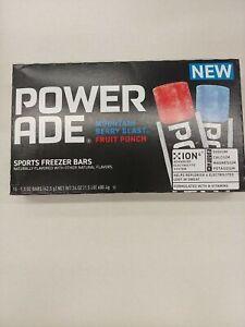 Powerade Sports FREEZER BARS B-Vitamins + Electrolytes Freeze 16-Pops BB 2/2023