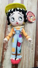 Spooky Betty Boop Scarecrow Sugar Loaf Plush