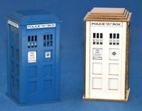 1:32 Scale Police Box Kit - for Scalextric/Other Static Layouts