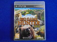 ps3 CABELAS BIG GAME HUNTER 2012 Cabela's Hunting Game PAL UK REGION FREE