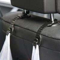 🔥 2X Car Seat Coat Headrest Hook Purse Bag Organiser Hanger Bag Holder 🔥