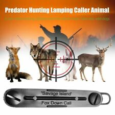 Fox Caller Mouth Predator Game Call Whistle Tone For Fox Hunting WP