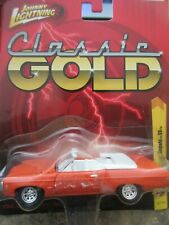 Johnny Lighting Orange 1969 Chevy Impala SS Classic Gold