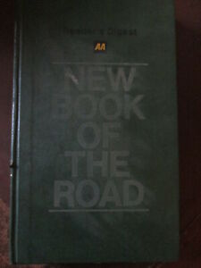 AA new book of the road.Automobile association. RAC.AA book