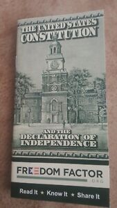 Constitution of the United States 48 pages Pocket size